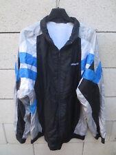 Veste ADIDAS nylon parachute 90's noir tracktop jacket jacke oldschool 186 XL
