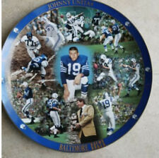 Danbury Mint Johnny Unitas Collector's Edition Plate Baltimore Colts #19