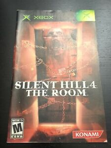 Silent Hill 4 The Room XBOX Manual Microsoft