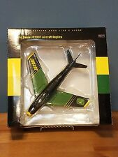 JOHN DEERE EAA 2007 F-86 SABRE JET AIRPLANE - 1 of 300 - NIB AIRCRAFT REPLICA