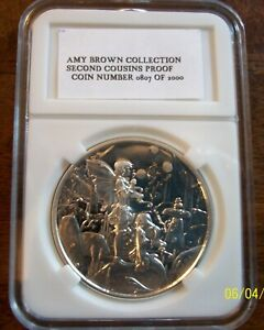 1 oz Proof Amy Brown Collection Second Cousins Silver Round (New w/ CoA)
