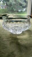 Vintage WATERFORD Crystal COMERAGH Footed Pedestal Bowl Dish