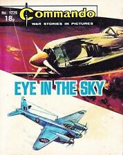 Commando For Action & Adventure Comic Book Magazine #1726 EYE IN SKY