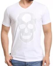Figurbetonte Herren-T-Shirts Skull