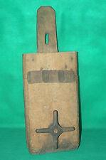 Ancien outil en chêne , à identifier ??? serre-joint ?? art populaire deco