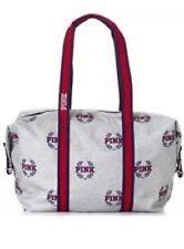 Victoria's Secret PINK Tote Bag Charcoal Grey Heather Logo FREE P&P