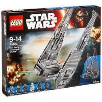 Lego 75104 Kylo Ren's Command Shuttle™ Star Wars Age 9-14 *BNISB*