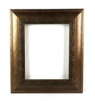 Vintage Antique Style Picture Frame Gold Gilt Gesso Baroque Fits 14 x 11