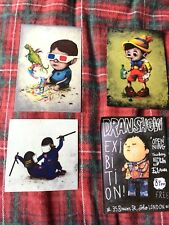 Dran Post Card's Show & Stickers