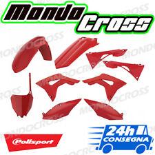 Kit plastiche cross mx POLISPORT Rosso HONDA CRF 450 R 2018 (18)!