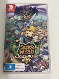 Snack World The Dungeon Crawl Gold (Nintendo Switch) AUS Seller