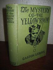 PHOTOPLAY 1st MYSTERY OF YELLOW ROOM Gaston Leroux PHANTOM OPERA Rouletabille
