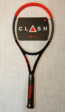 NEW Wilson Clash 100 Pro Tennis Racquet Grip Size 4 1/2
