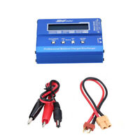 80W 1-6S LiPo Battery Balance Charger Discharger for Mini Drone with XT60 Plug