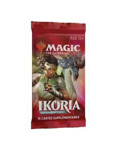 10 x MTG ikoria: Lair of Behemoths (French) Factory Sealed Booster Packs