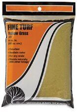 WOO 43 Woodland Scenics Fine Turf Yellow Grass New Free Shipping