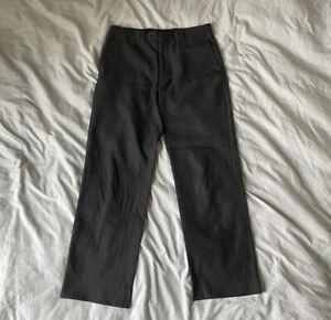 "Margaret Howell Men's Soft Wool & Cotton Check Trousers - 32"" Italian 48"