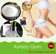 100g Thickener Konjac Gum Powder Dietary Fibers Meal Replacement Weight control