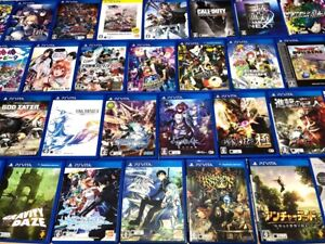 Sony PS Vita Various Used Games w/case JAPAN Import / Ship from USA