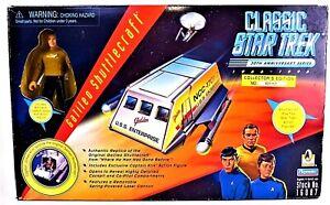 Galileo Shuttlecraft Classic 30th Anniversary Star Trek w/ Exclusive Kirk NEW