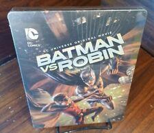 Batman vs Robin DC Universe Original Steelbook (Blu-ray) NEW-Free Box Shipping