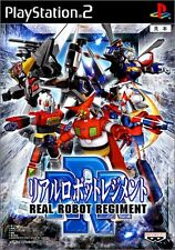 Used PS2 Real Robot Regiment   Japan Import (Free Shipping)
