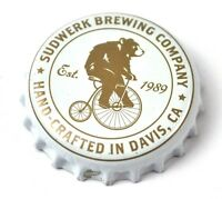 Sudwerk Brewing Beer Bier Kronkorken USA Soda Bottle Cap Bär auf Hochrad
