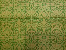 Jane's Paradise Garden Free Spirit Fabric BTHY Lemon Yellow Lime Green Floral