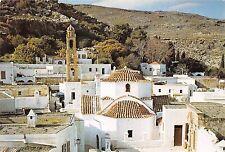 BR6351 Lindos Partie de Lindos de nos jours eglise de la Sainte Vierge   Greece