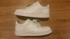 Mens Nike Air Force 1 Low All white uptowns size 8