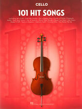 101 Hit Songs Cello aktuelle Pop Songs Noten für Violoncello
