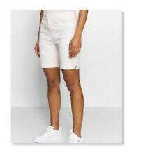 NEW Women's Puma Pounce Dry Cell White Bermuda Golf Shorts - Sz 8 $65