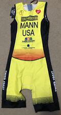 Rocket Science Sports Triathlon Elite Race Suit, Team USA, Yellow
