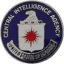 CIA CENTRAL INTELLIGENCE AGENCY POLICE LAPEL  PIN
