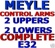 CONTROL Arms UPPER + LOWER All *4*  MEYLE BMW E32 7-series 735 740 750 i iL New