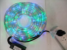 30M LED Rope Light Multi Colour with Multi Function Controller, Outdoor