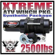 NEW 2500lb ATV WINCH ASSEMBLY 04-07 HONDA RANCHER 350//400 153:1 GEAR RATIO