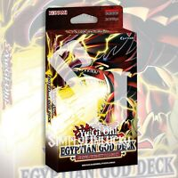 EGYPTIAN GOD DECK: SLIFER THE SKY DRAGON 40 CARDS YuGiOh SEALED Presale 6/9/21
