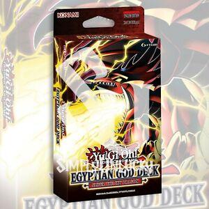 EGYPTIAN GOD DECK: SLIFER THE SKY DRAGON 40 CARDS YuGiOh SEALED Presale 6/16/21