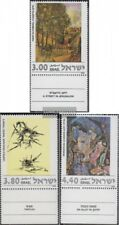 Israel 733-735 with Tab (complete issue) unmounted mint / never hinged 1978 Pain