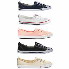 Converse CT Ballet Lace Slip Damen-Halbschuhe Sneaker Turnschuhe Sportschuhe