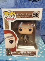 Pop Games The Elder Scrolls Online High Elf #56 VINYL Figure w/ Pop Protector