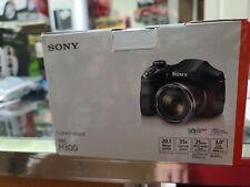 ✅ Sony Cyber-shot DSC-H300 20.1MP Digital Camera - Black open box