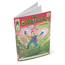 THE GARDENER COMIC BOOK Plantable Seed Paper Indoor Gardening educational FUN