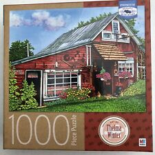 Milton Bradley Country Gift Shop 1000pc Puzzle Thelma Winter