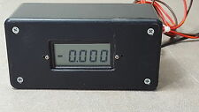 4.5 Digit LCD Panel Meter/19999 display. Application for Amp/V/PH/dB/W/Ω/Lux/LCR