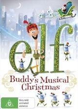 ELF - Buddy's Musical Christmas DVD CHRISTMAS TV MOVIES BRAND NEW RELEASE R4
