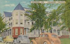 Leesburg VA * Leesburg Inn 1940s * S.W. Keesee Owner Rt 15 & 7