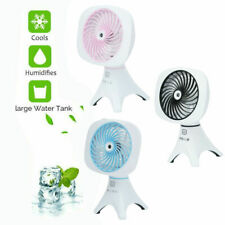 Mini Portable Fan Handheld Rechargeable USB Cooling Desk Aroma Fans Phone Holder