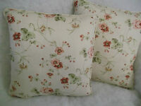 "MASSIVE REDUCTIONS ON JOSEPHINE BY CLARKE & CLARKE 1 PAIR OF 18"" CUSHION COVERS"